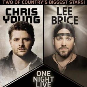 Country Hitmakers Lee Brice And Chris Young Team Up For Co-Headlining Tour